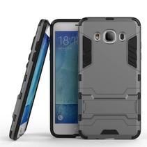 Grijs Hybrid Hoesje Samsung Galaxy J5 2016