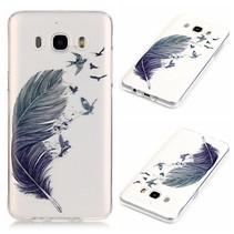 Veer en Vogels TPU Hoesje Samsung Galaxy J7 2016