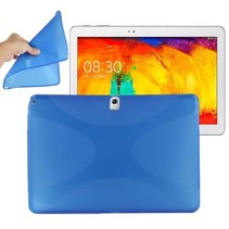 X-design TPU blauwe hoes Samsung Galaxy Note 10.1 (2014 editie)