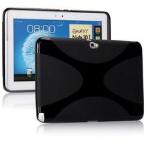 X-design zwarte TPU hoes Samsung Galaxy Note 10.1 (n8000/n8010)
