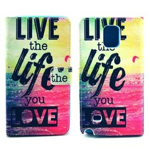 Life quote Bookcase hoes Samsung Galaxy Note 4