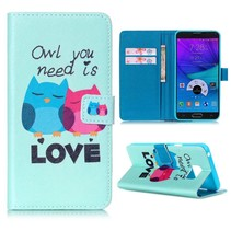 Owl love Bookcase hoes Samsung Galaxy Note 5