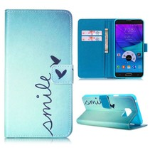 Smile Bookcase hoes Samsung Galaxy Note 5