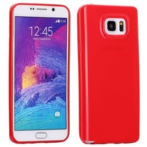 Rood TPU hoesje Samsung Galaxy Note 5