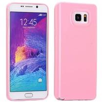Lichtroze TPU hoesje Samsung Galaxy Note 5