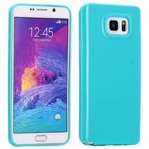 Cyaan TPU hoesje Samsung Galaxy Note 5