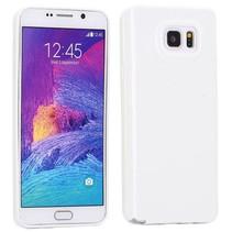 Wit TPU hoesje Samsung Galaxy Note 5