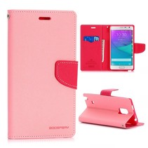 Fancy diary roze Bookcase hoes Samsung Galaxy Note Edge
