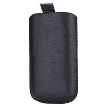 Insteek hoesje zwart Samsung Galaxy S2