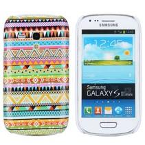 Kleurrijk indianen hoesje Samsung Galaxy S3 Mini