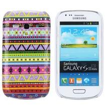 Kleurrijk tribal hoesje Samsung Galaxy S3 Mini