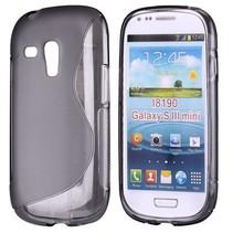 S-line grijs TPU hoesje Samsung Galaxy S3 Mini