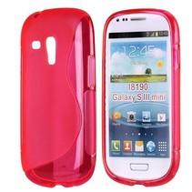 S-line roze TPU hoesje Samsung Galaxy S3 Mini