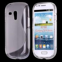 S-line transparant hoesje Samsung Galaxy S3 Mini