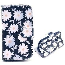 Chrysanthemum bloemen hoes Samsung Galaxy S3 Mini