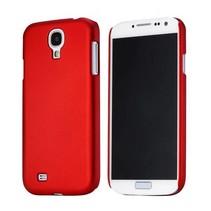 Rood effen hardcase hoesje Samsung Galaxy S4