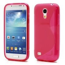 Rood S-design TPU hoesje Samsung Galaxy S4 mini