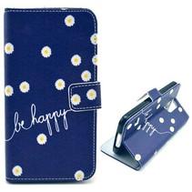 Be Happy Bookcase hoesje Samsung Galaxy S5 Mini