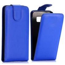 Blauw Flip Case hoesje Samsung Galaxy S6 Edge