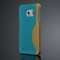 Blauw duo-color hoesje Samsung Galaxy S6 Edge