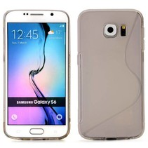 Grijs S-design TPU hoesje Samsung Galaxy S6 Edge