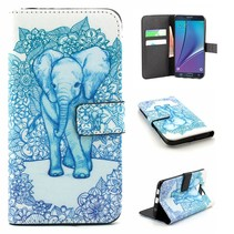 Olifant Booktype  hoesje Samsung Galaxy S6 Edge Plus