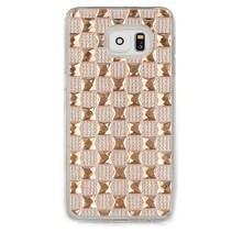 Goud diamant TPU hoesje Samsung Galaxy S6 Edge Plus