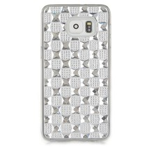 Zilver diamant TPU hoesje Samsung Galaxy S6 Edge Plus
