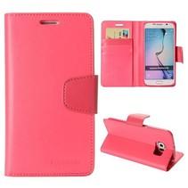 Goospery roze Booktype  hoesje Samsung Galaxy S6