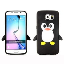 Pinguin siliconen hoesje Samsung Galaxy S6