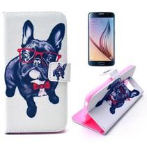 Bulldog Bookcase hoesje Samsung Galaxy S6