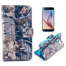 Herfst takken Booktype  hoes Samsung Galaxy S6