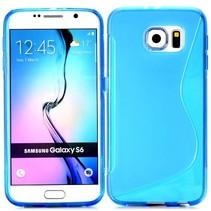 Blauw S-design TPU hoesje Samsung Galaxy S6