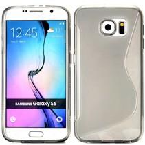 Grijs S-design TPU hoesje Samsung Galaxy S6