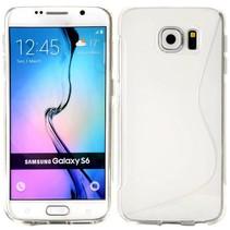 Transparant S-design TPU hoesje Samsung Galaxy S6