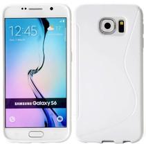 Wit S-design TPU hoesje Samsung Galaxy S6