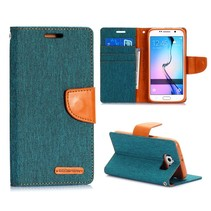 Canvas book type groen Samsung Galaxy S6