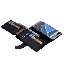 Zwart Portemonnee Hoesje Samsung Galaxy S7 Edge