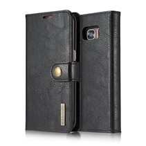 Zwart Bookcase Hoesje Samsung Galaxy S7 Edge