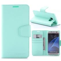 Sonata Cyaan Bookcase Hoesje Samsung Galaxy S7 Edge