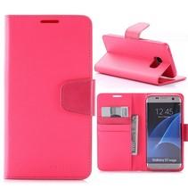 Sonata Roze Bookcase Hoesje Samsung Galaxy S7 Edge
