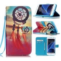 Dromenvanger Bookcase Hoesje Samsung Galaxy S7 Edge