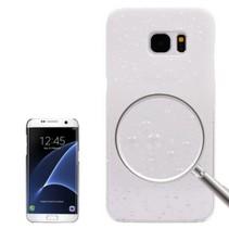 Waterdruppels Wit Hardcase Hoesje Samsung Galaxy S7 Edge