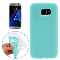 Cyaan Slim TPU Flipcover Hoesje Samsung Galaxy S7 Edge