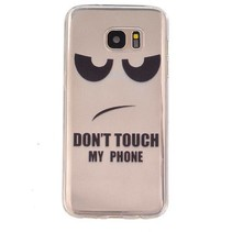 Don't Touch My Phone TPU Hoesje Samsung Galaxy S7 Edge