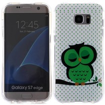 Slapende Uil TPU Hoesje Samsung Galaxy S7 Edge