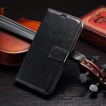 Zwart Bookcase Hoesje Samsung Galaxy S7