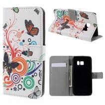 Vlinders Bookcase Hoesje Samsung Galaxy S7