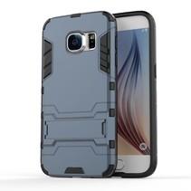 Blauw Hybrid Hoesje Samsung Galaxy S7
