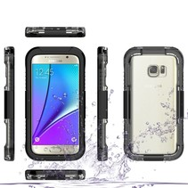 Zwart Waterdicht Hoesje Samsung Galaxy S7